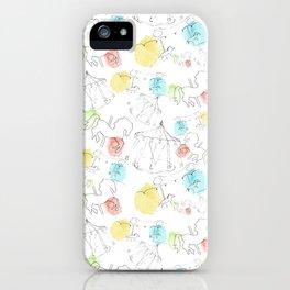 estampado carrusel iPhone Case