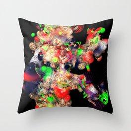 rambling pseudomorph w/ jug Throw Pillow