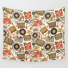 I love Music Wall Tapestry