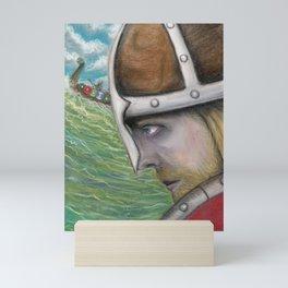 The Norsemen Cometh Mini Art Print