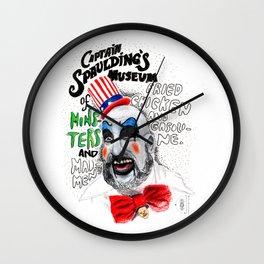 Captain Spaulding Wall Clock