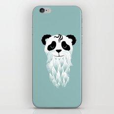 Panda Beard iPhone & iPod Skin