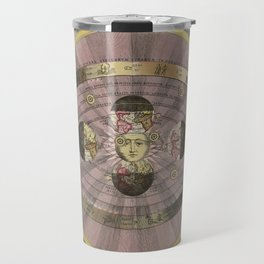 Scenograpy of the Earth and Heavens, as According to Copernicus, 1708 Travel Mug