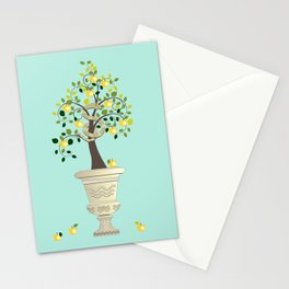 Guarding Golden Apples Stationery Cards