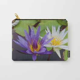 Loving Lotuses Carry-All Pouch
