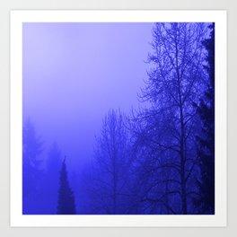 Into the Blue Art Print