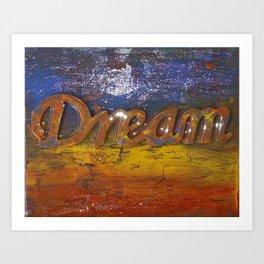 Dream Abstract Art Print