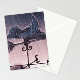 one and lonely Stationery Cards