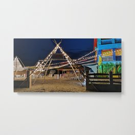 Beach bar Metal Print