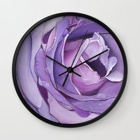 royal Wall Clocks featuring Royal by Jenna Mhairi