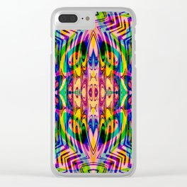 Funkydelica #2 Clear iPhone Case