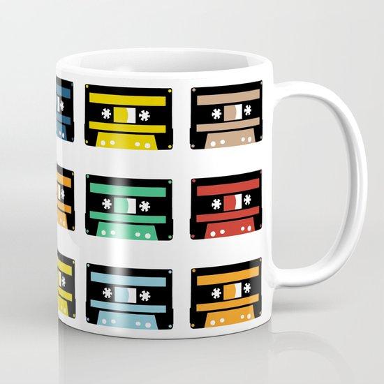 Rainbow Black Tapes Coffee Mug