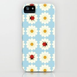 Ladybugs pattern iPhone Case