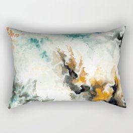 Fire and Ice Rectangular Pillow