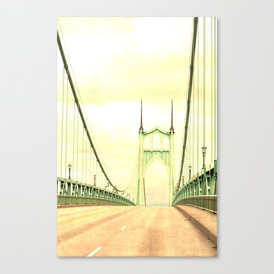 ST JOHNS BRIDGE Canvas Print