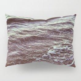 Green Ocean Waves Pillow Sham