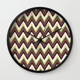 Peruvian Pattern Wall Clock