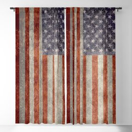 USA Flag Banner - Imagine this Blackout Curtain