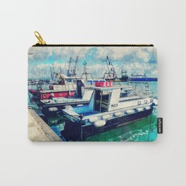 Trapani art 16 Sicily Carry-All Pouch