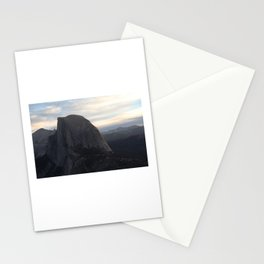 Sunrise at Half Dome Stationery Cards