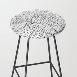 Coit City Pattern 1 Bar Stool