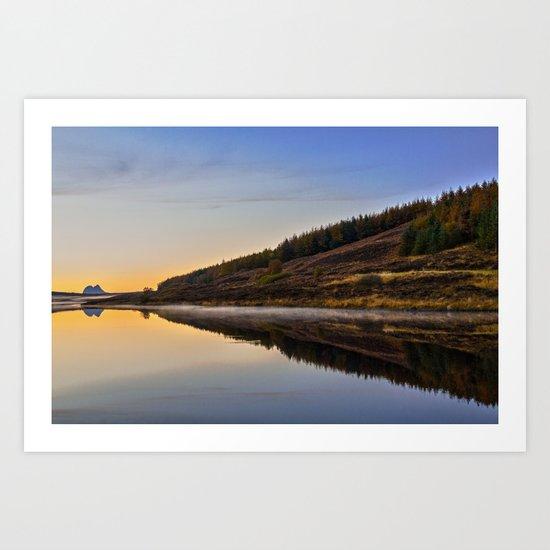 Suilven across Loch Craggie Art Print