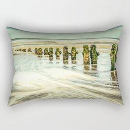 Wave Breaks Rectangular Pillow
