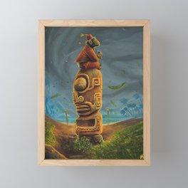 Koshi Greets The Storm Framed Mini Art Print