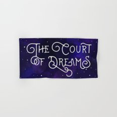 The Court of Dreams - A Court of Mist and Fury by Sarah J. Maas Hand & Bath Towel