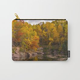Quarry Park Fall in St Cloud, MN Carry-All Pouch