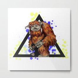Ludo Triangle Metal Print