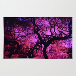 Under the Tree in Pink and Purple Rug