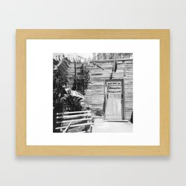 This Way To... Framed Art Print