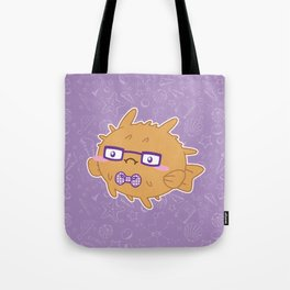 Nerdy Blowfish Tote Bag