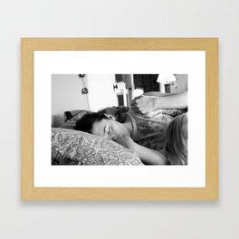 untitled (intimates IV) Framed Art Print