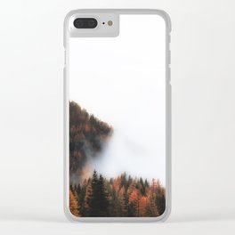 All Consuming Clear iPhone Case
