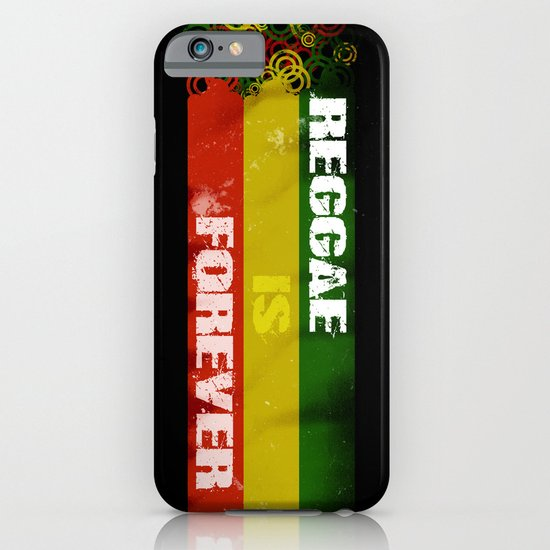 Reggae Is Forever II iPhone & iPod Case
