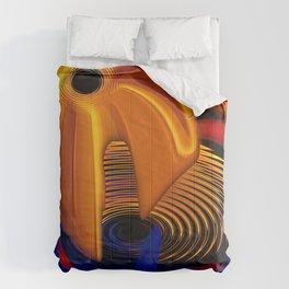 Fire Crescendo Chromatique Comforters
