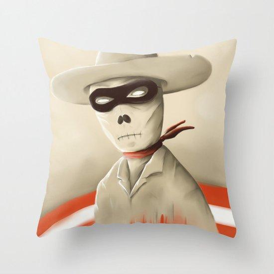 Wild wild death Throw Pillow
