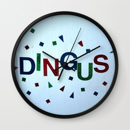 Dingus Wall Clock
