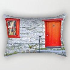 Winchester Red Door Rectangular Pillow