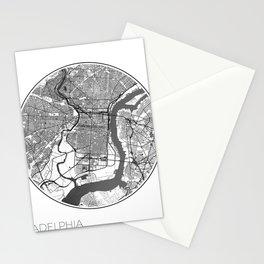 Philadelphia Map Universe Stationery Cards