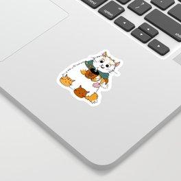 Christmas coffee Sticker