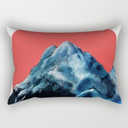 Far Over The Misty Mountains Cold Rectangular Pillow