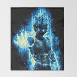 Vegeta Throw Blanket