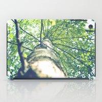 birch iPad Cases featuring Birch by nadja-elli