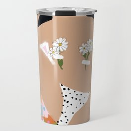 Flower Bra Travel Mug