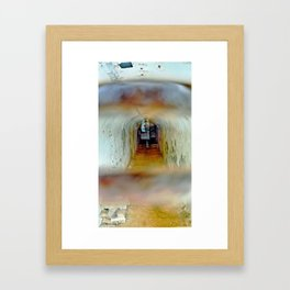 shelter disguised as home Framed Art Print