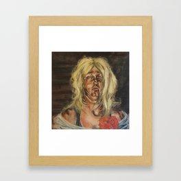 Lycia (The Chimera's Despair) Framed Art Print