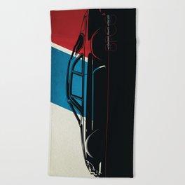 Nation Series: France - Alpine A110 Beach Towel